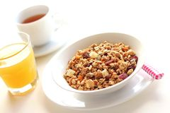 Granola for healthy breakfast Stock Photography