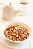 Granola for healthy breakfast Royalty Free Stock Image