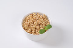 Granola for healthy breakfast Royalty Free Stock Photos