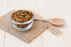Granola. Homemade dessert delicious granola is a breakfast food and snack food consisting of rolled oats, nuts, honey. it is lightweight, high in calories royalty free stock images