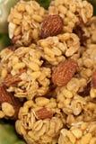 Granola. Makro Lizenzfreie Stockbilder