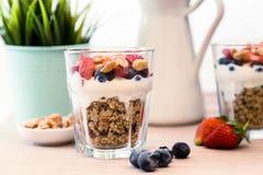 Granola śniadanie Zdjęcie Royalty Free