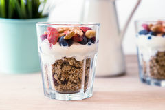 Granola śniadanie Obrazy Stock
