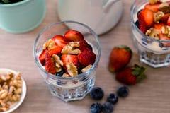 Granola śniadanie Obraz Stock