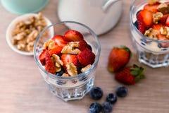 Granola śniadanie Obraz Royalty Free