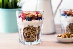 Granola śniadanie Zdjęcie Stock