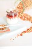 Granola per l'alimento sano e la dieta della prima colazione Immagine Stock Libera da Diritti