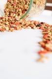 Granola per l'alimento sano e la dieta della prima colazione Immagini Stock