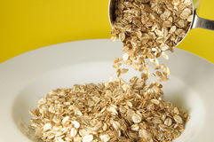 Granola Plate Royalty Free Stock Photography