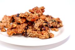 Granola Snack Royalty Free Stock Photo