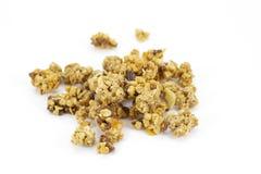 Granola som göras av knapriga rullande oats för frukost Royaltyfria Bilder