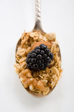 Granola Spoonful Royalty Free Stock Photo