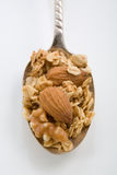 Granola Spoonful Royalty Free Stock Photography