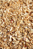 Granola upclose vertical Royalty Free Stock Photo