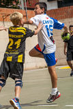GRANOLLERS CUP 2014 Royalty Free Stock Photography