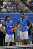 Granollers & M Lopes runners up Rogers Cup 2012 Royalty Free Stock Photography