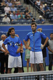 Granollers & Mark Lopes runners-up Rogers Cup 2012 Royalty Free Stock Image