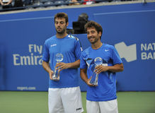Granollers & Mark Lopes runners up Rogers Cup 2012 Stock Photos