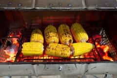 granos asados a la parrilla (maíz, mazorca) Imagen de archivo libre de regalías
