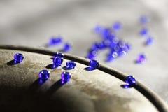 Granos azules Imágenes de archivo libres de regalías