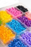 Granos coloridos Fotografía de archivo libre de regalías