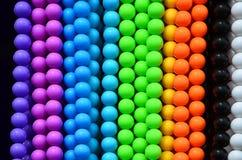 Granos coloridos Foto de archivo libre de regalías