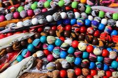 Granos coloridos Imágenes de archivo libres de regalías