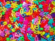 Granos coloridos Fotos de archivo libres de regalías