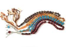 Granos coloridos del rosario, Imagen de archivo