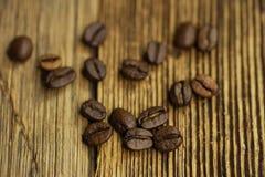 Granos de café Fotos de archivo libres de regalías