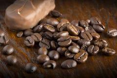 Granos de café Fotografía de archivo