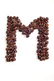 Granos de café Fotos de archivo