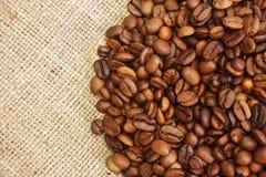 Granos de café asados Fotos de archivo