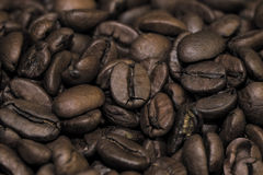 Granos de café asados Imagenes de archivo