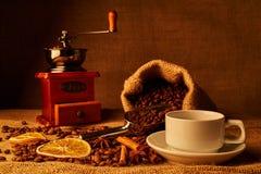 Granos de café asados Imagen de archivo libre de regalías