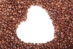 Granos de café asados, fondo de la comida Foco selectivo Imágenes de archivo libres de regalías