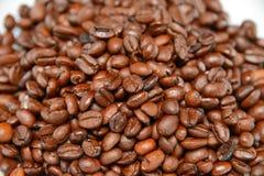 Granos de café de la textura Imagen de archivo libre de regalías