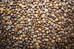 Granos de café del fondo del café Fotografía de archivo libre de regalías
