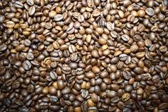 Granos de café del fondo del café Foto de archivo libre de regalías