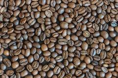 Granos de café Fondo Fotografía de archivo libre de regalías