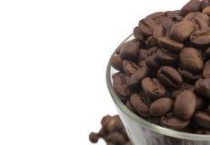 Granos de café macros Imagen de archivo