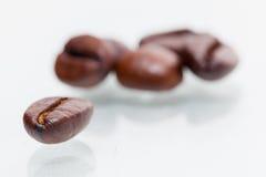 Granos de café macros Imagenes de archivo