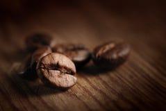 Granos de café Fotografía de archivo libre de regalías