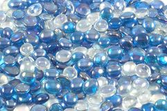 Granos de cristal foto de archivo libre de regalías