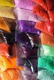 Granos de cristal Imagenes de archivo