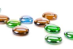 Granos de cristal coloridos Imagenes de archivo