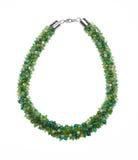 Granos de cristal verdes Imagen de archivo