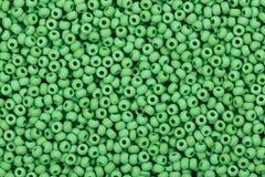 Granos de cristal verdes fotografía de archivo