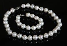 Granos de la perla Fotografía de archivo