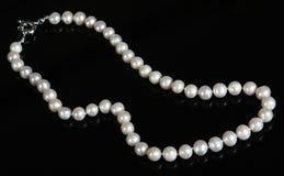 Granos de la perla Fotografía de archivo libre de regalías